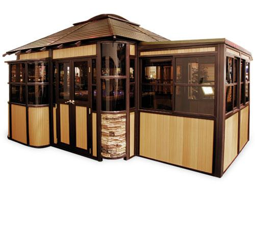 Cal design gazebos serving spokane and coeur d 39 alene areas for Cal spa gazebo