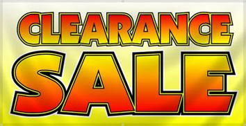 Image result for blowout clearance sale